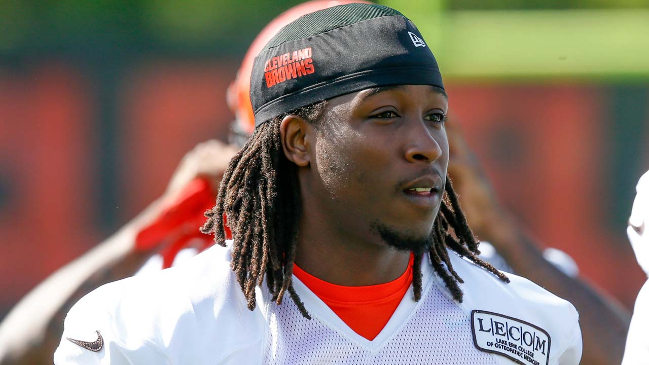 Cleveland Browns' Kareem Hunt