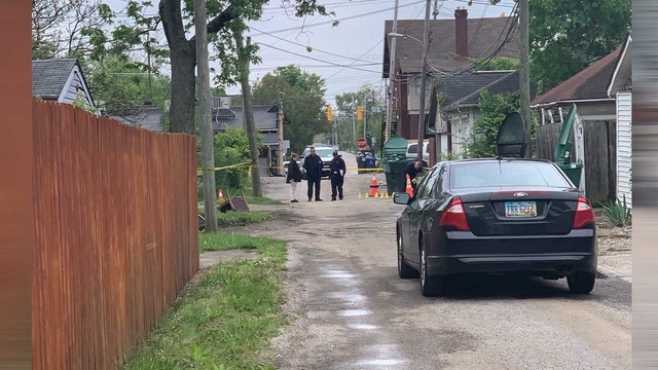 Columbus Body Found in Alley