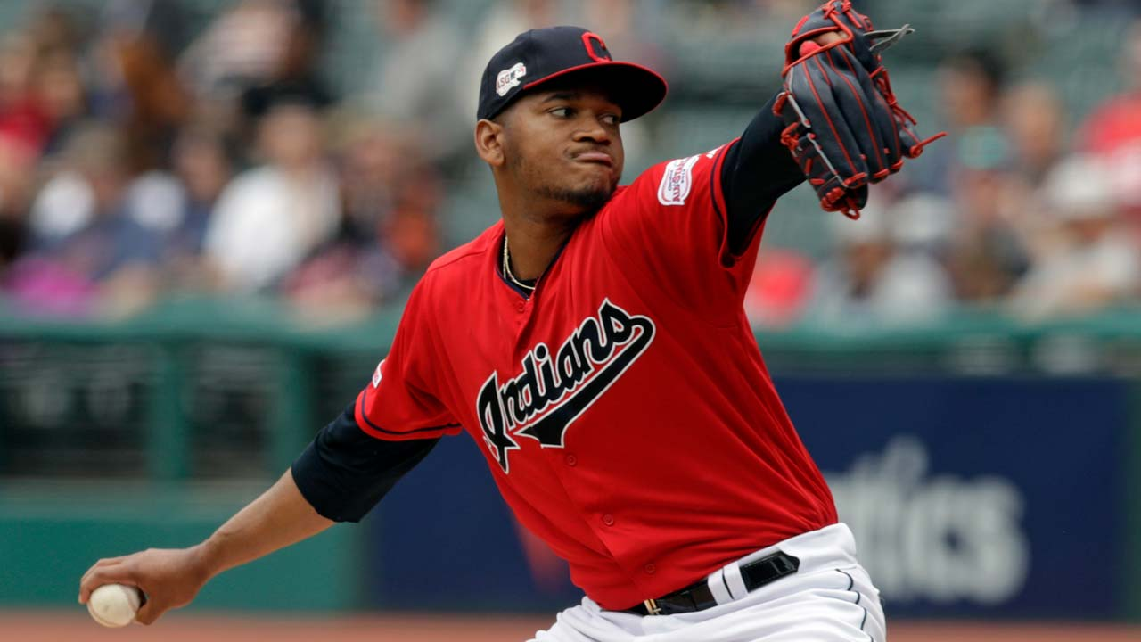 Cleveland Indians starting pitcher Jefry Rodriguez - May 22