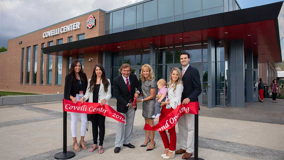 Covelli Center celebrates grand opening in The Ohio State University Athletic District.