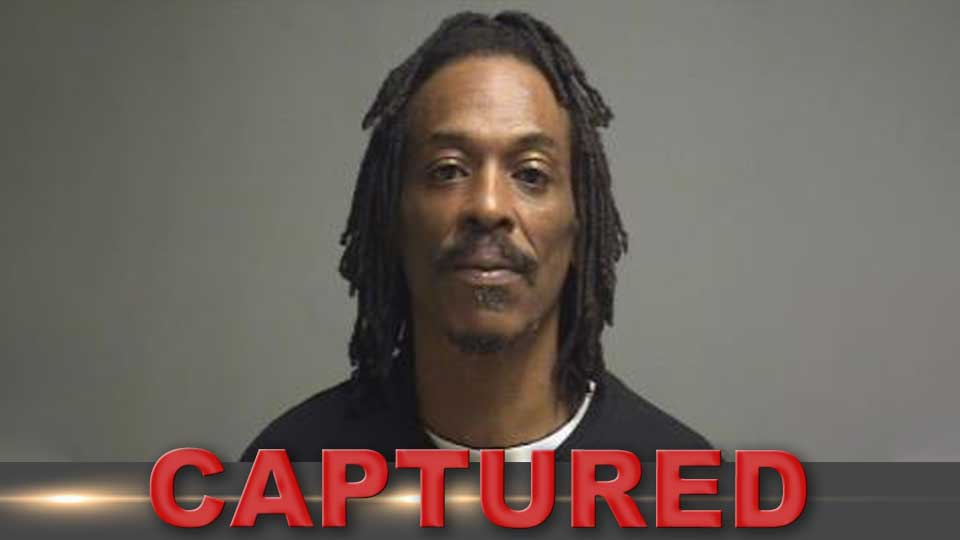 Keith Black, wanted for weapons under disability and parole violation for domestic violence, captured, Youngstown, Ohio.