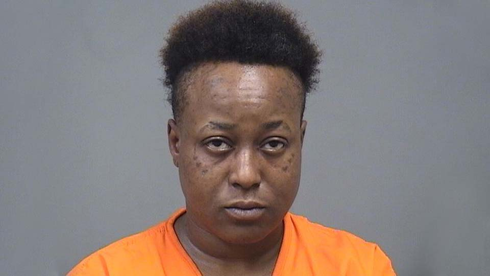 Shana Starks, charged with receiving stolen property in Youngstown.