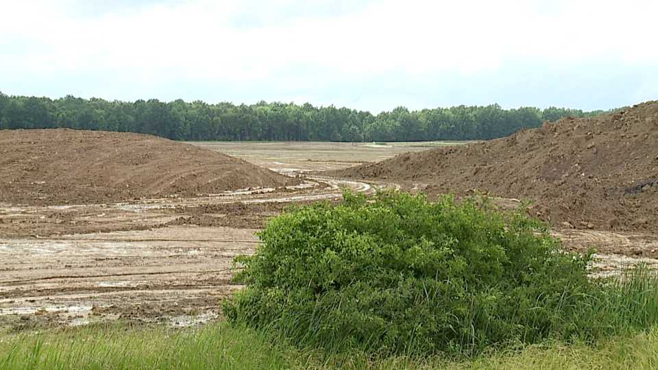 Land cleared for TJX HomeGoods warehouse in Lordstown