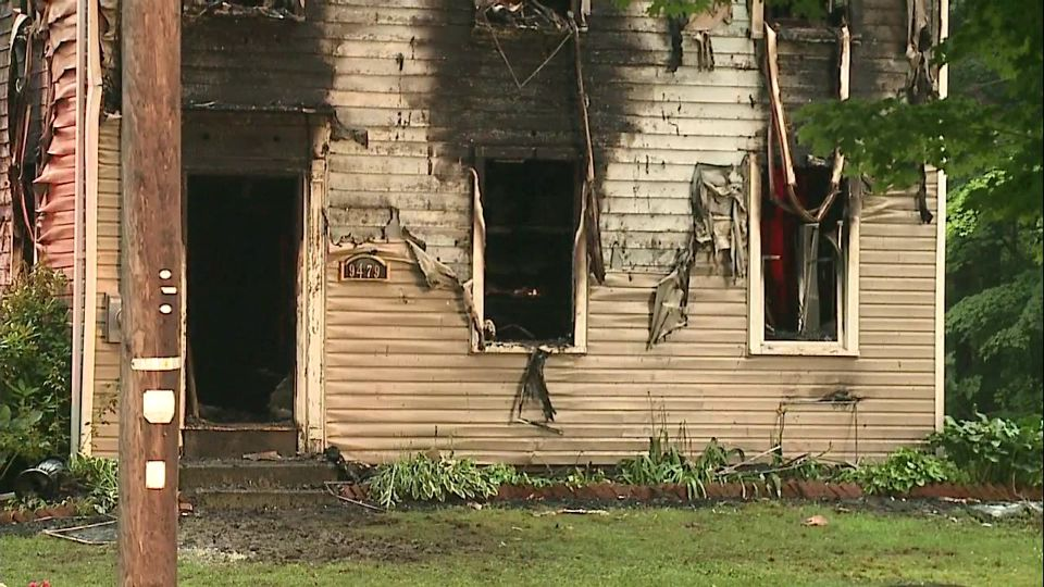 House fire in Windham, Ohio
