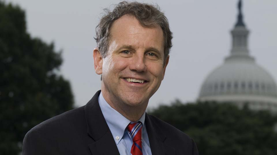 Official photo of Ohio Senator, Sherrod Brown.