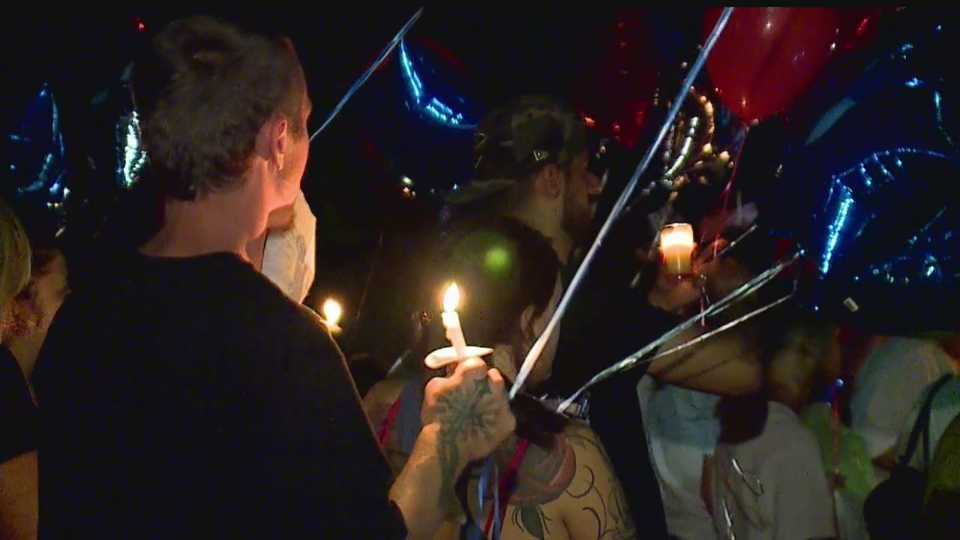 Memorial for Youngstown motorcycle crash victim, Mike DeSantis