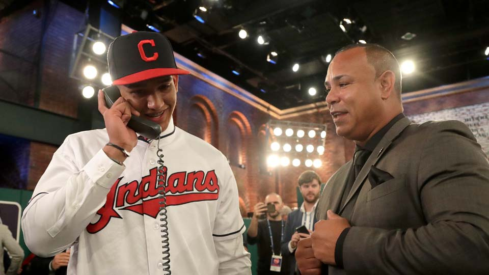 Daniel Espino drafted by the Cleveland Indians