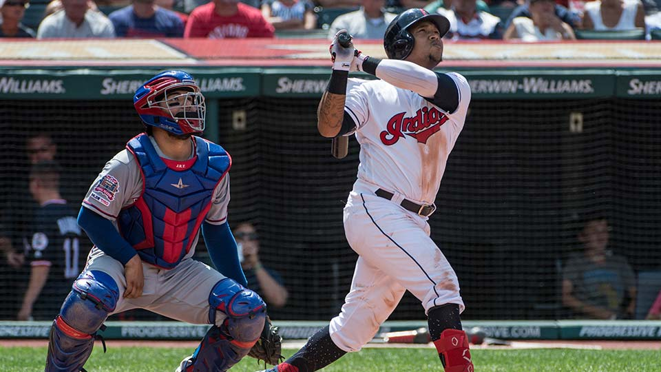 Ramírez's 2-run homer sends Indians by Rangers in DH opener | WKBN com