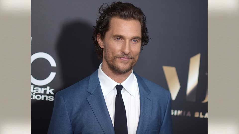 Matthew McConaughey arrives at the 20th annual Hollywood Film Awards at the Beverly Hilton Hotel on Sunday, Nov. 6, 2016, in Beverly Hills, Calif.