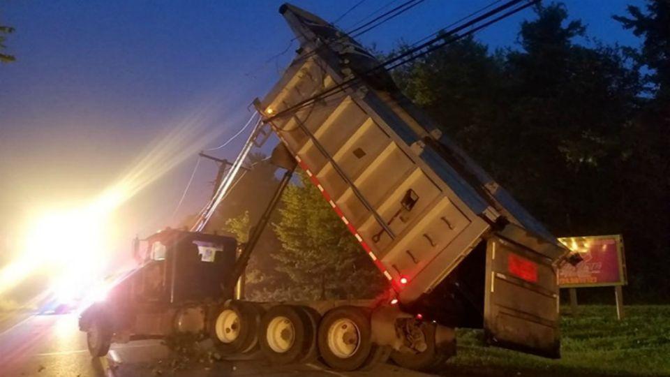 Shenango Twp. dump truck crash