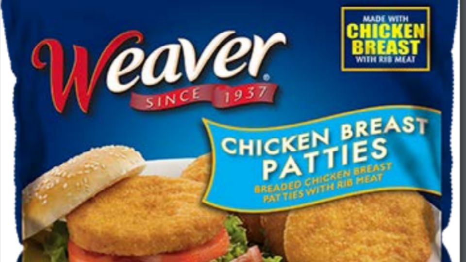 Weaver chicken patties
