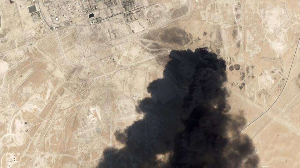 Saudi Arabia oil processing facility
