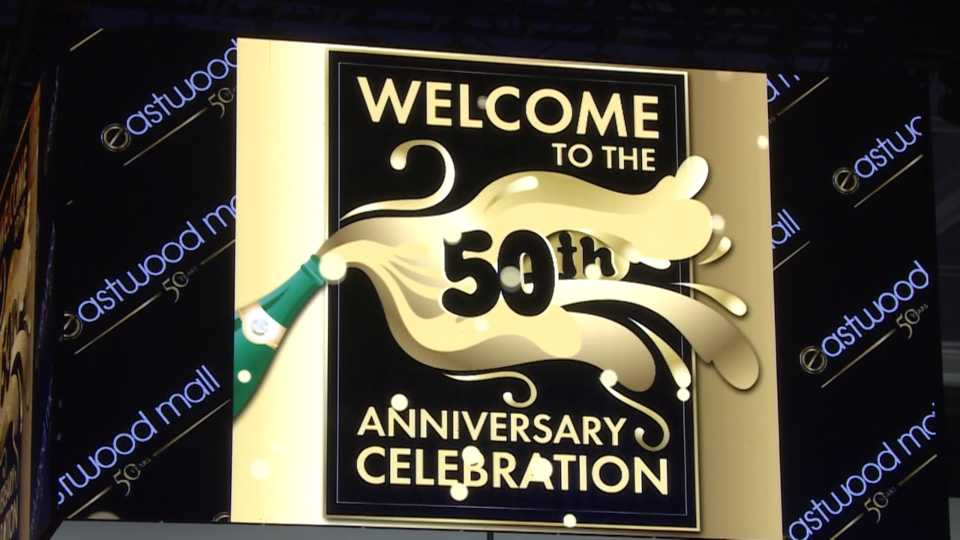 Eastwood Mall celebrates 50 years with a gala.