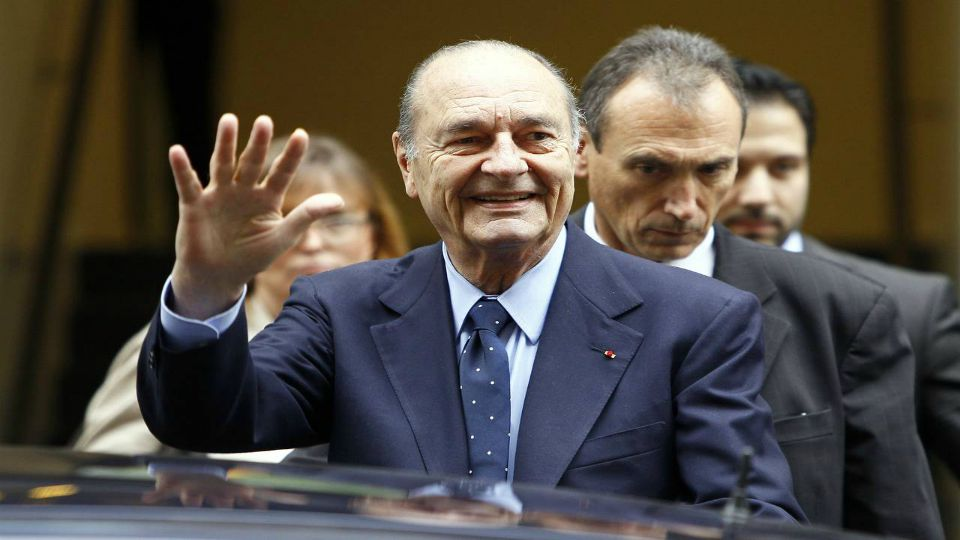 Former French President Jacques Chirca has died