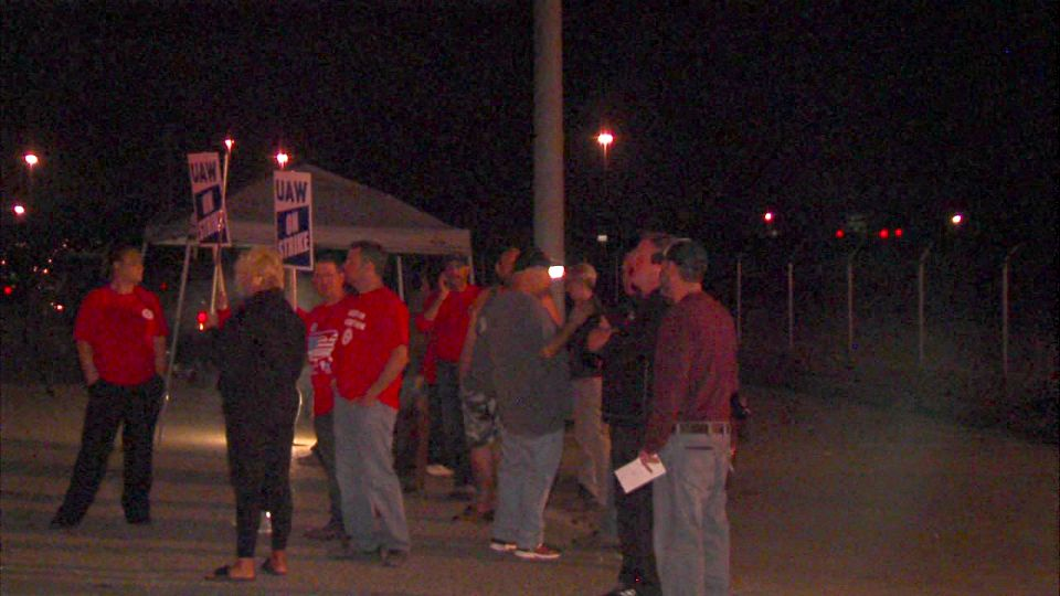 Lordstown, Ohio GM UAW strike.