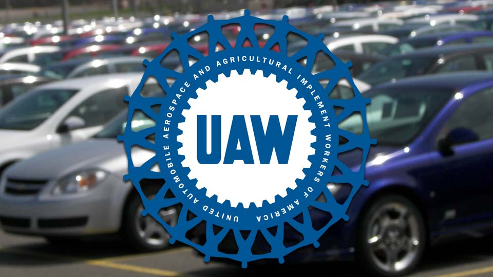 UAW 1112 members prepare for protest in Lordstown