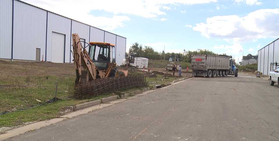 Youngstown Chill Can Plant under construction
