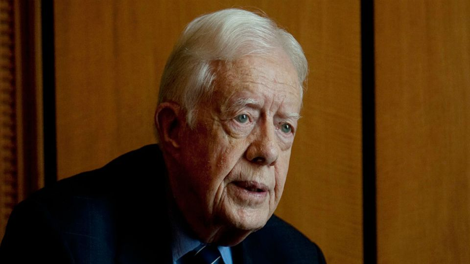 Image result for images of Jimmy Carter hospitalised again after suffering pelvic fracture