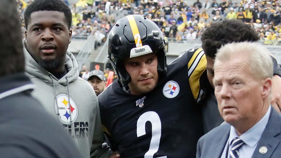Pittsburgh Steelers quarterback Mason Rudolph.