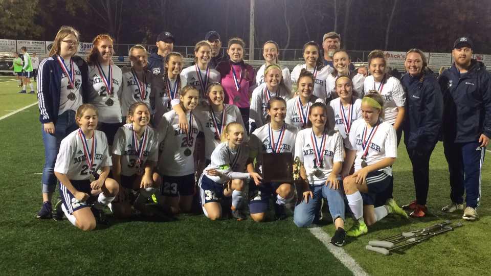 Mercer Girls Soccer team