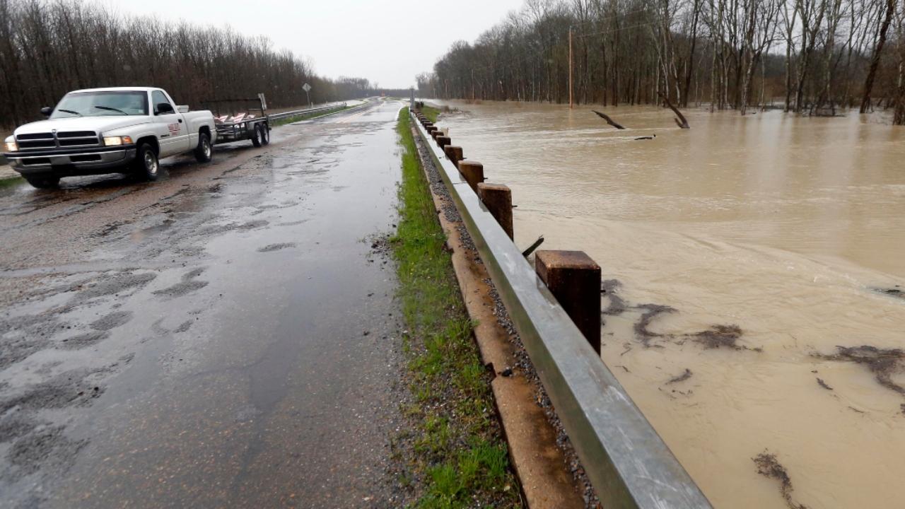 Flooding in Mississippi