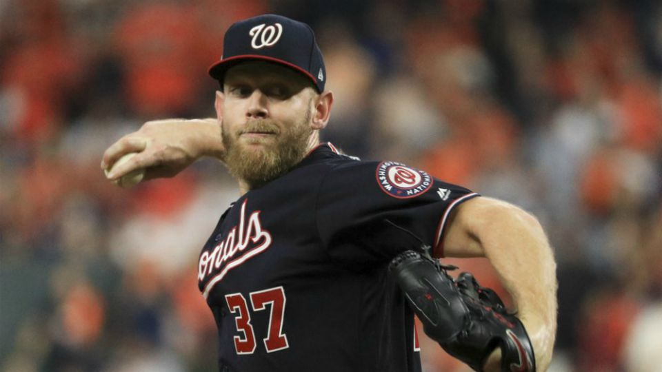 It's been an unconventional road to Game 7 of the World Series for Stephen Strasburg and the Washington Nationals.