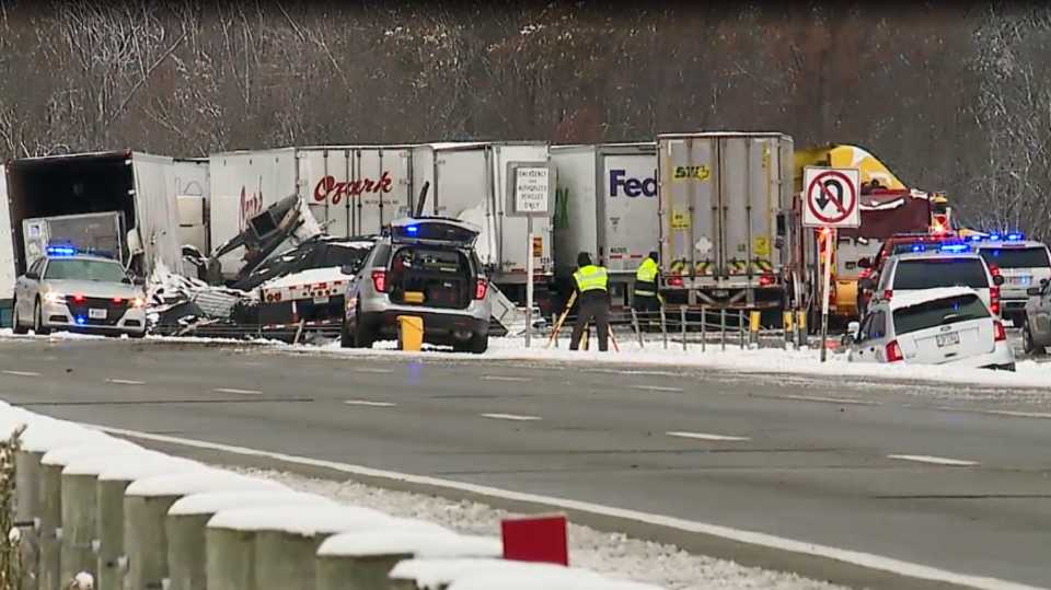I-80 crash in Austintown, Ohio