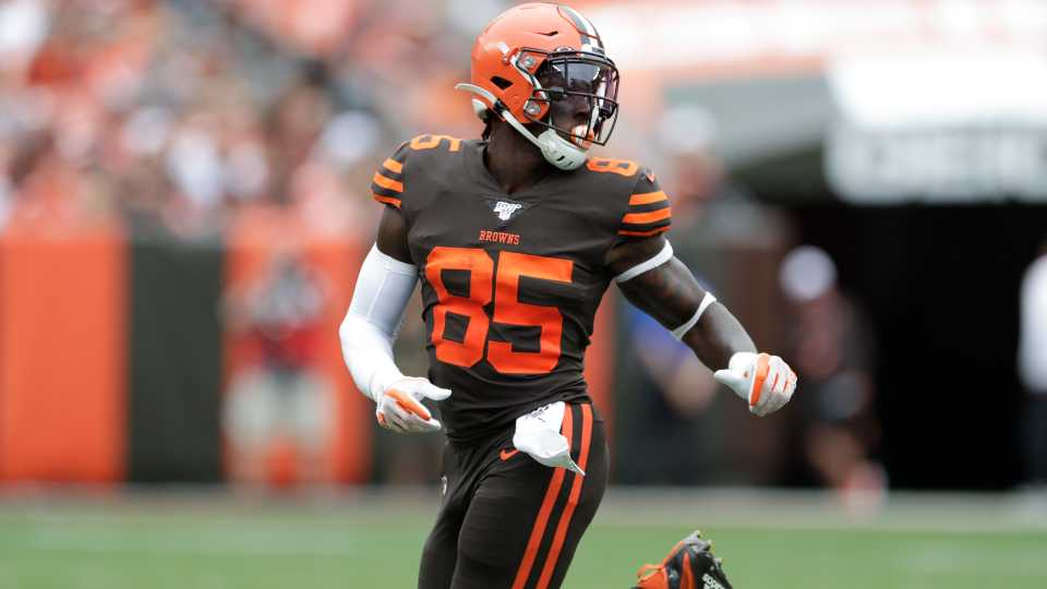 Cleveland Browns' David Njoku