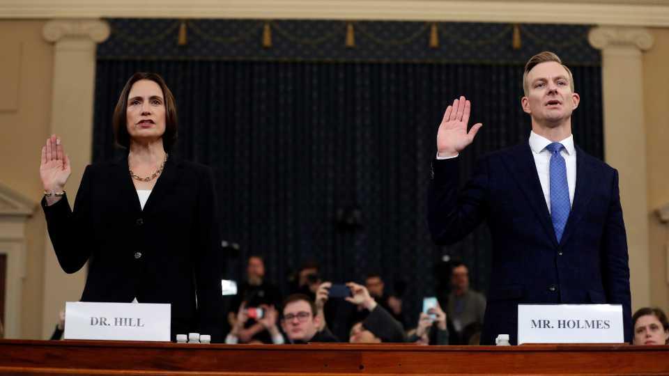 Fiona Hill Impeachment (AP Photo/Andrew Harnik)