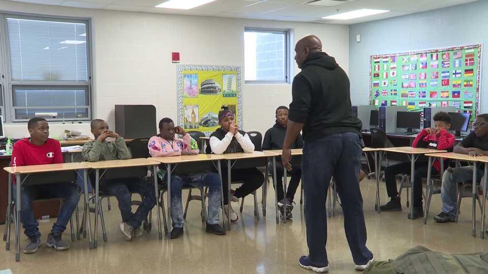 Warren Schools, Men of Distinction mentorship program