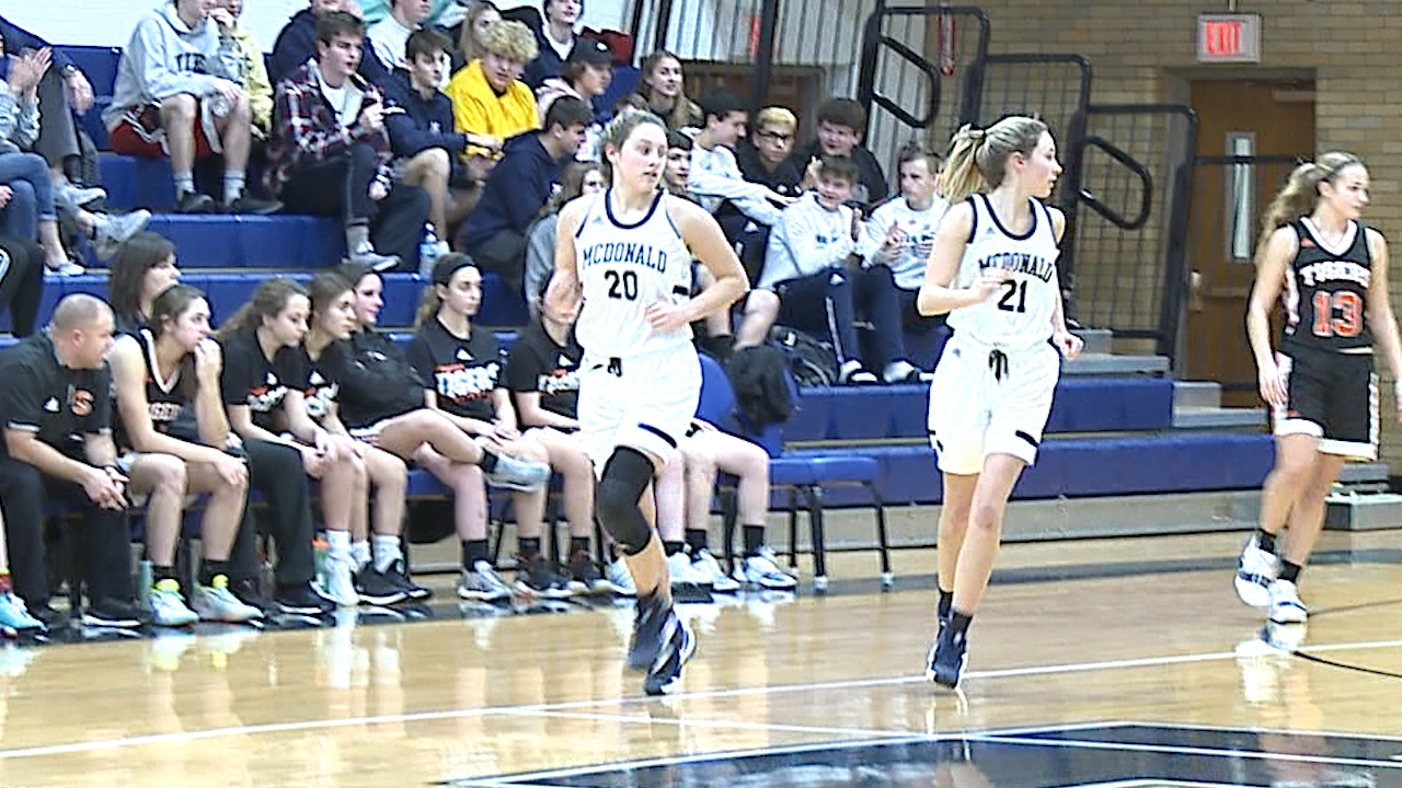 Molly and Maddy Howard powered the Blue Devils to a 61-31 victory over Springfield Thursday