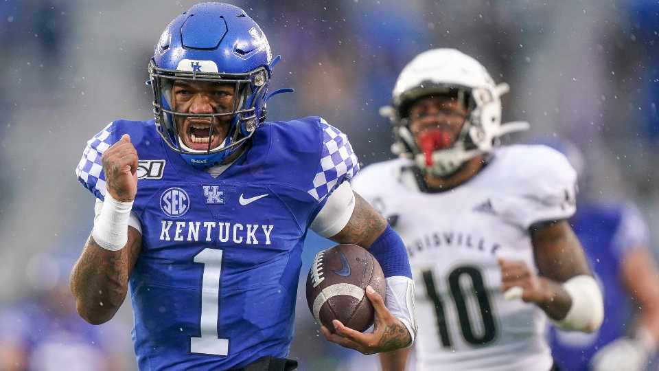 Warren Harding graduate and University of Kentucky quarterback Lynn Bowden is headed to the NFL