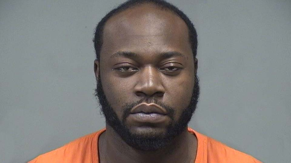 Marquis Strong, charged with improperly handling a firearm, possessing drugs and obstructing official business.