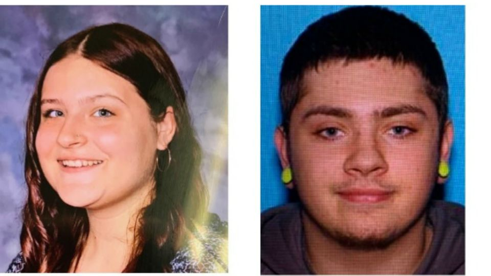 Police say Samara Derwin was reported missing Sunday and believed to be abducted by 20-year-old Jordan Oliver.
