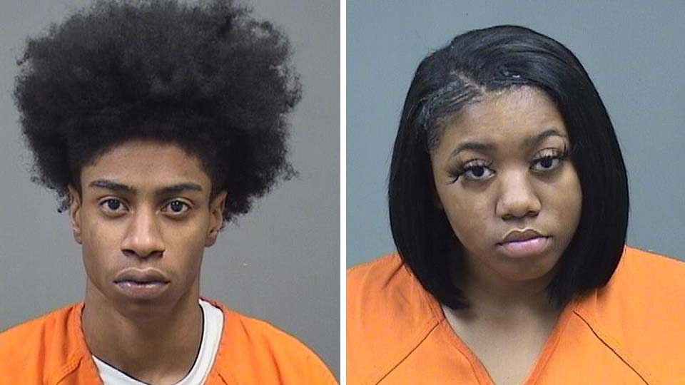 Joe'Von Jackson and Beyonce Little, charged with felonious assault and improperly discharging a firearm into a motor vehicle in Youngstown.
