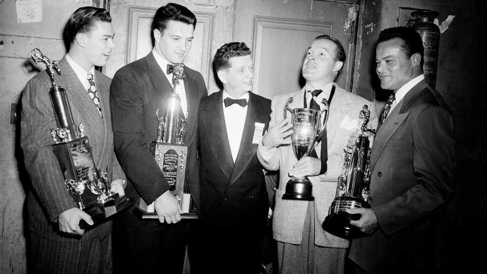 Sportswriters Association Trophies