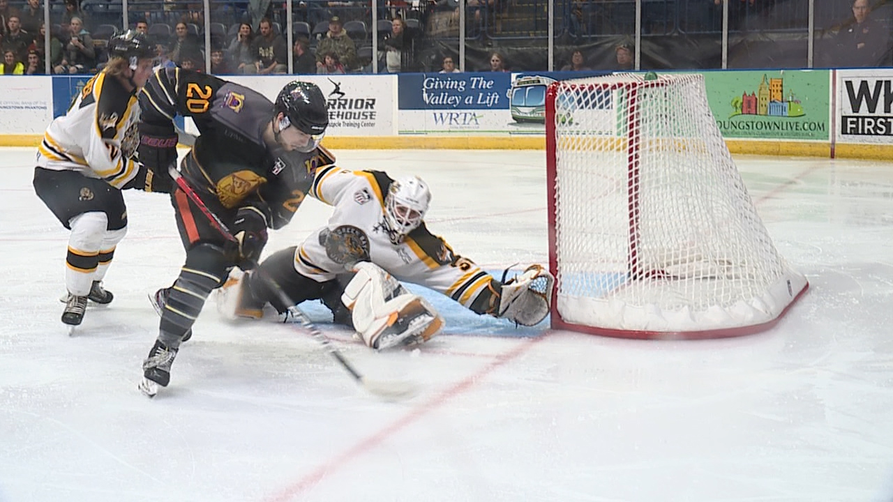 grabko makes key saves for win over phantoms