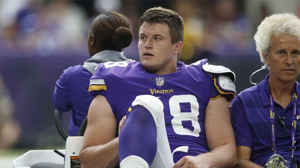 Johnny Stanton, Minnesota Vikings running back