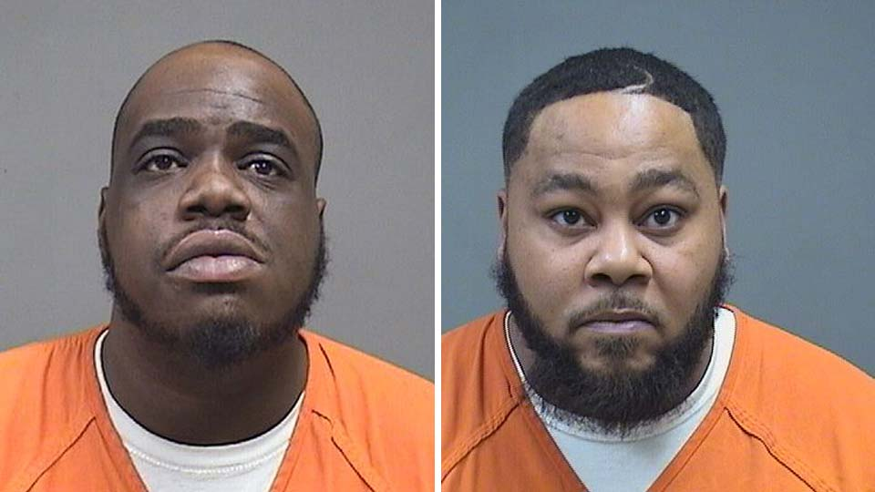 Kenneth Coates, 29, and Dontae Hubbert, 34, both of Delaware Avenue, are both in the Mahoning County jail on gun and drug charges.