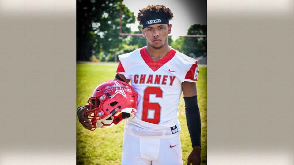 Migel Burgess, Chaney football