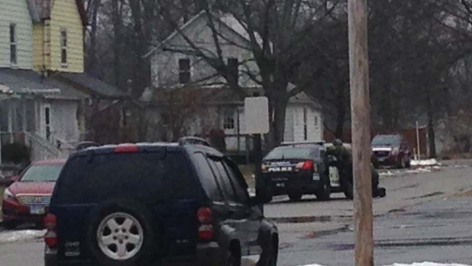 Police surround home in Sebring