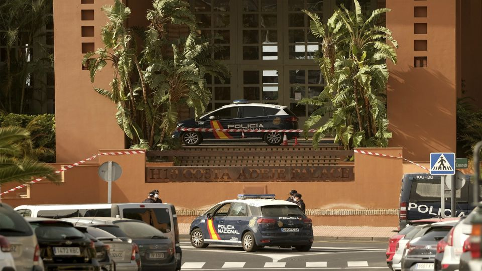 A tourist hotel in the Canary Islands was placed in quarantine Tuesday after an Italian doctor staying there tested positive for the new coronavirus