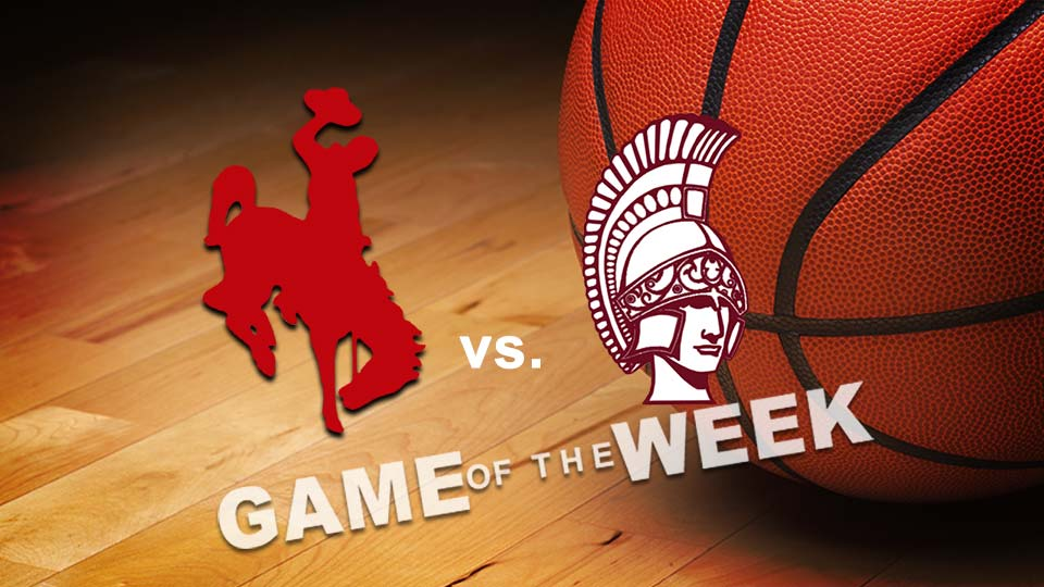 Chaney Cowboys vs. Boardman Spartans basketball Game of the Week graphic