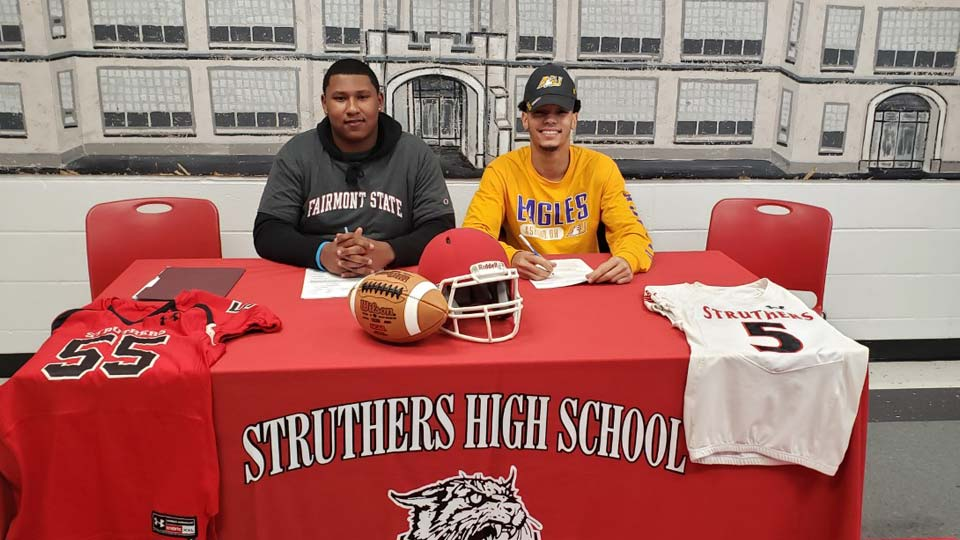 Struthers High School Student Athletes Signing Day