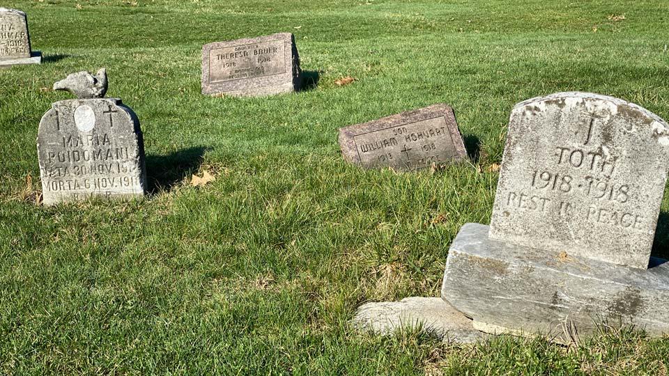 1918 Spanish Flu gravesite