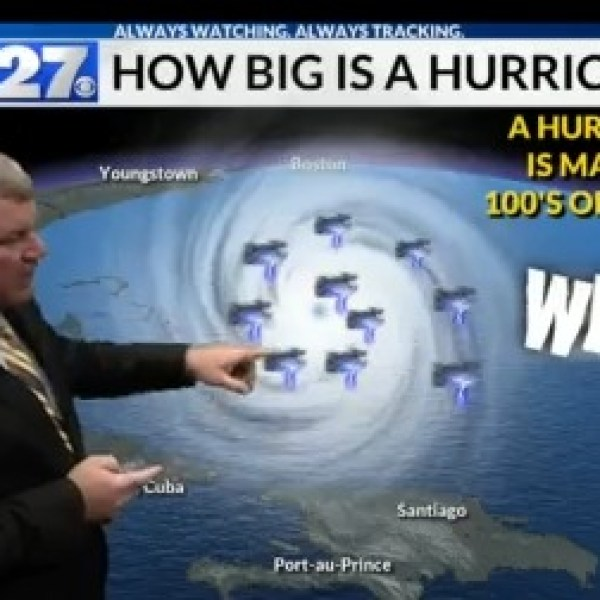 Find out how big a Hurricane is and when they are most common