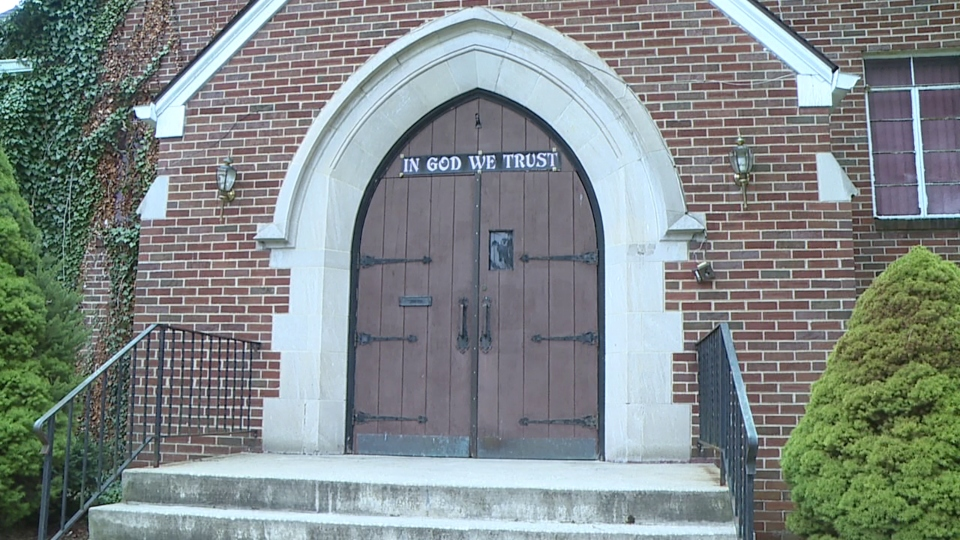 Churches coping with COVID-19 outbreak.