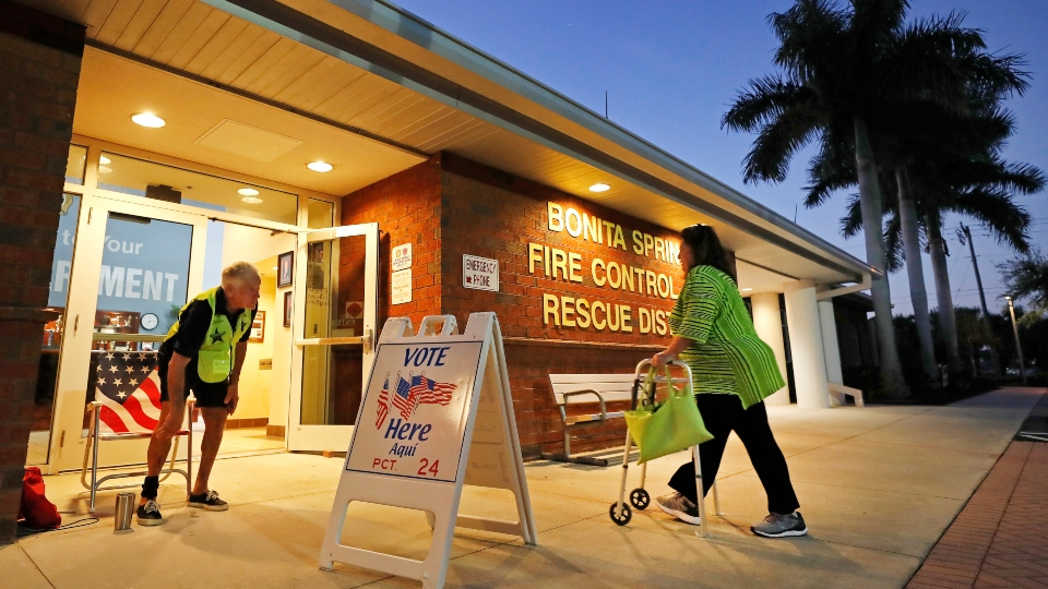 Election 2020, Florida primary election.