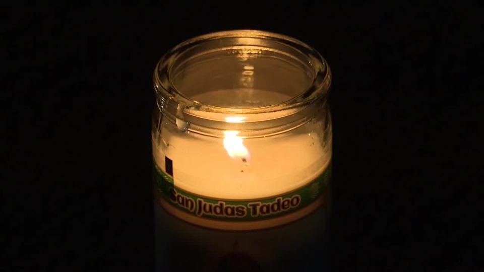 Candlelight ceremony for Mark Eckert, of Canfield, who died of coronavirus