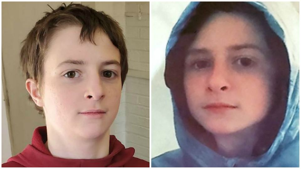 A 14-year-old boy was reported missing from Youngstown.